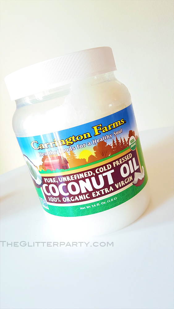 different way to use coconut oil for beauty