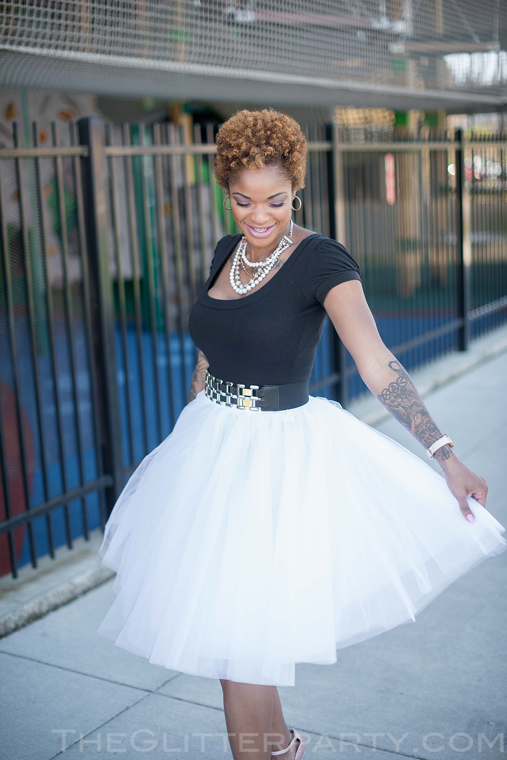 The Perfect Tulle Skirt – Family Picture Time!